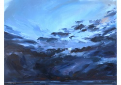Exhibition paintings from M5 owner Bram Moens at