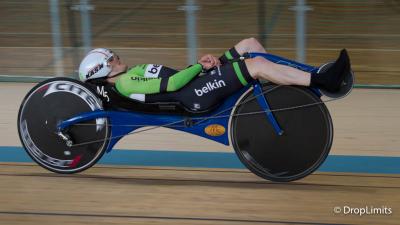 Nieuw en absoluut wereldrecord, 57.6 km in een uur, voor Matthias Konig op M5 carbon ligfiets