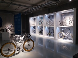 M5 Minimal Bike displayed at expo Cube Design Museum Kerkrade, the Netherlands