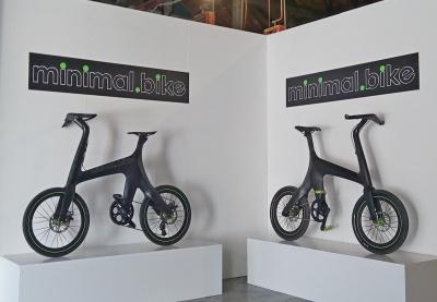 Impressie van Minimal Bike stand in Rome