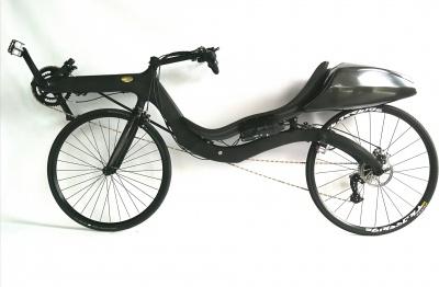 M5 Carbon High Racer met 's werelds lichtste (1,7 kg) elektrische ondersteuning, inclusief accu!
