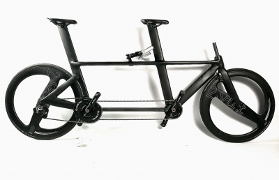 New from M5: UCI legal Carbon Tandems for road and track