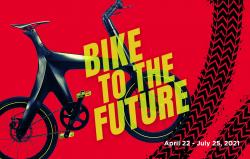 Minimal Bike on tour in Museum of Design Atlanta, USA